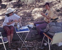 Picknick ... somewhere in the Flinders Ranges?