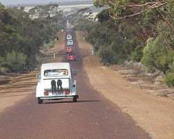 The Road from Hyden to Norseman, Pre-Raid Nullarbor